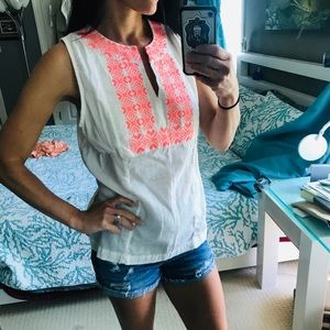 Small old navy tank boho
